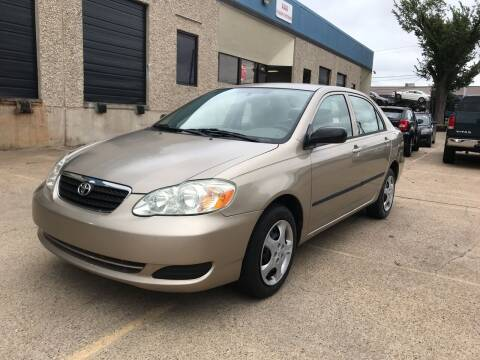 2007 Toyota Corolla for sale at BJ International Auto LLC in Dallas TX