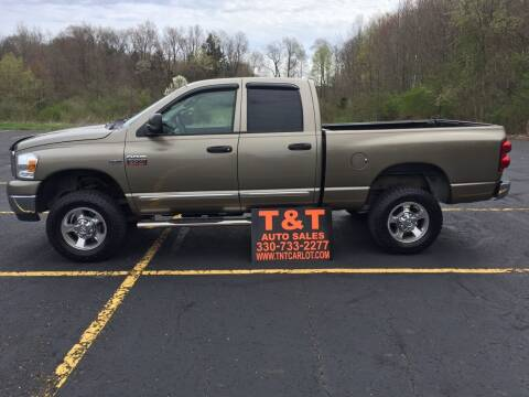 2008 Dodge Ram Pickup 2500 for sale at T & T Auto Sales in Akron OH