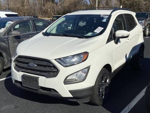 2018 Ford EcoSport for sale at Stearns Ford in Burlington NC