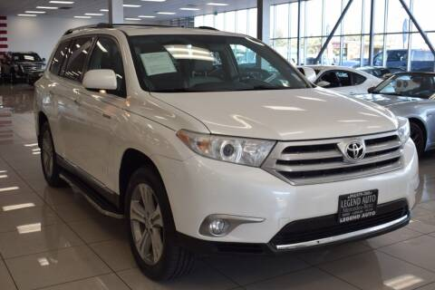 2013 Toyota Highlander for sale at Legend Auto in Sacramento CA