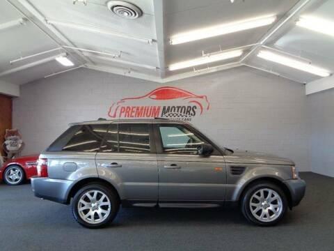 2008 Land Rover Range Rover Sport for sale at Premium Motors in Villa Park IL