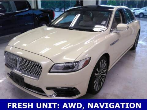 2018 Lincoln Continental for sale at STANLEY FORD ANDREWS in Andrews TX