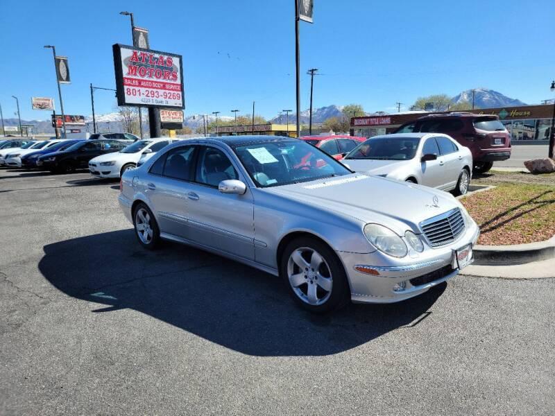 2004 Mercedes-Benz E-Class for sale at ATLAS MOTORS INC in Salt Lake City UT