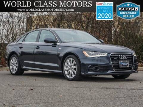 2014 Audi A6 for sale at World Class Motors LLC in Noblesville IN