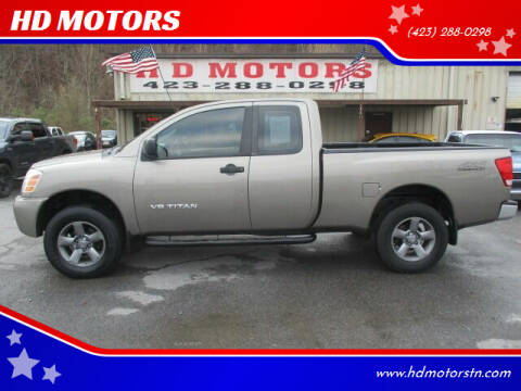 2007 Nissan Titan for sale at HD MOTORS in Kingsport TN