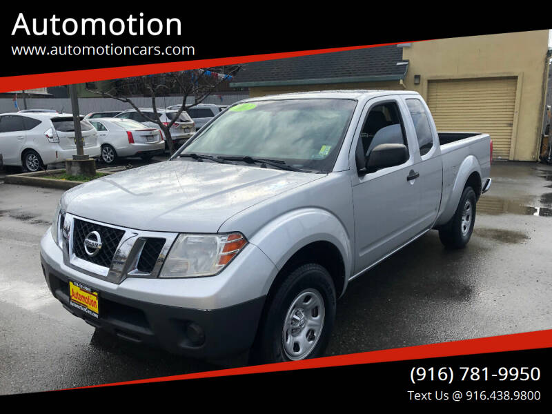 2013 Nissan Frontier for sale at Automotion in Roseville CA