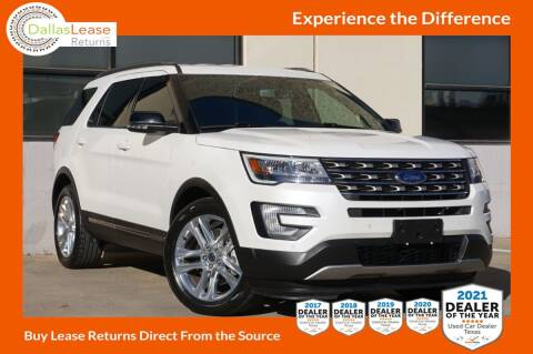 2017 Ford Explorer for sale at Dallas Auto Finance in Dallas TX