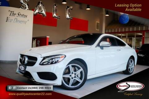 2017 Mercedes-Benz C-Class for sale at Quality Auto Center of Springfield in Springfield NJ