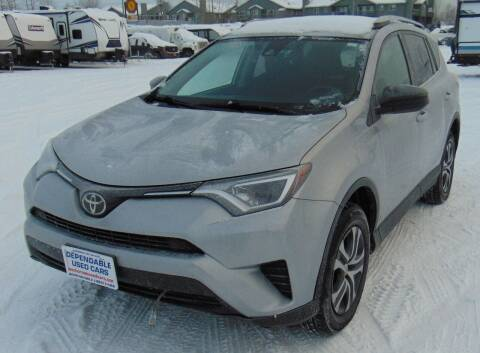 2017 Toyota RAV4 for sale at Dependable Used Cars in Anchorage AK