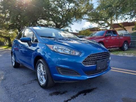 2019 Ford Fiesta for sale at Start Auto Liquidation Center in Miramar FL