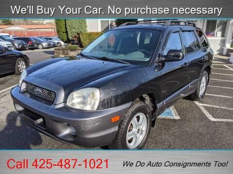 2003 Hyundai Santa Fe for sale at Platinum Autos in Woodinville WA