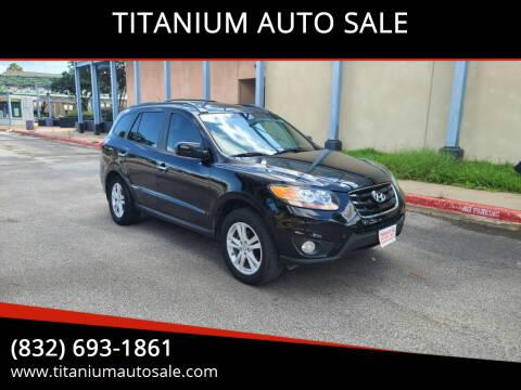 2011 Hyundai Santa Fe for sale at TITANIUM AUTO SALE in Houston TX