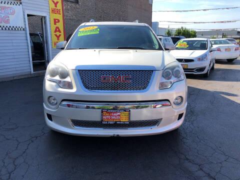 2012 GMC Acadia for sale at RON'S AUTO SALES INC in Cicero IL