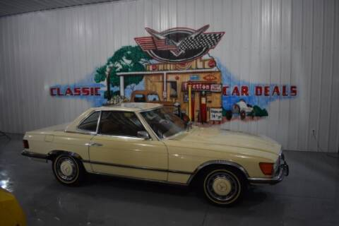 1973 Mercedes-Benz 350-Class for sale at Classic Car Deals in Cadillac MI