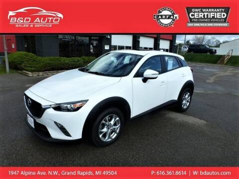 2016 Mazda CX-3 for sale at B&D Auto Sales Inc in Grand Rapids MI