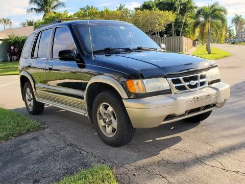 2000 Kia Sportage for sale at M.D.V. INTERNATIONAL AUTO CORP in Fort Lauderdale FL