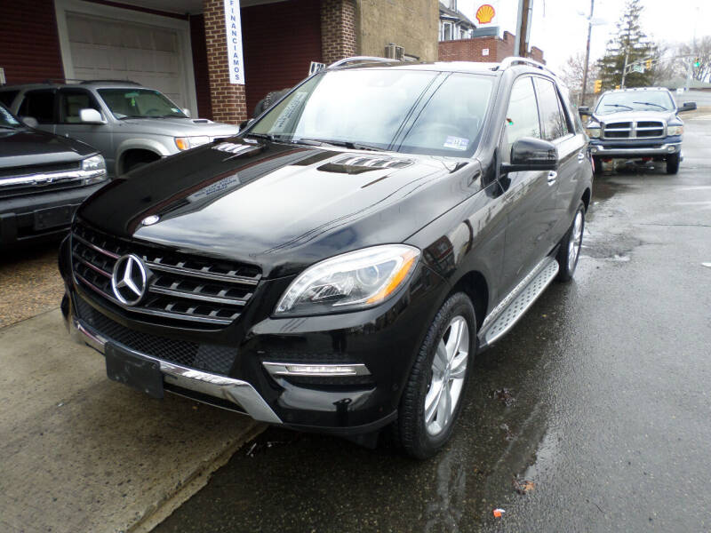 2015 Mercedes-Benz M-Class for sale at Associated Sales & Leasing, Inc. in Perth Amboy NJ