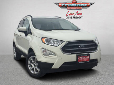 2021 Ford EcoSport for sale at Rocky Mountain Commercial Trucks in Casper WY
