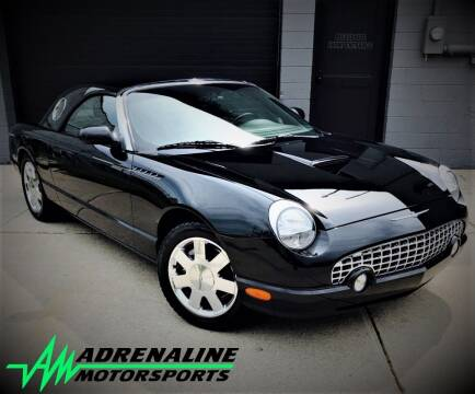 2002 Ford Thunderbird for sale at Adrenaline Motorsports Inc. in Saginaw MI