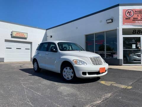 2009 Chrysler PT Cruiser for sale at HIGHLINE AUTO LLC in Kenosha WI