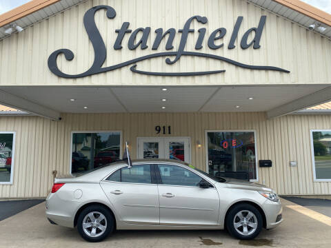 2013 Chevrolet Malibu for sale at Stanfield Auto Sales in Greenfield IN