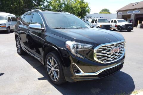 2018 GMC Terrain for sale at RS Motors in Falconer NY