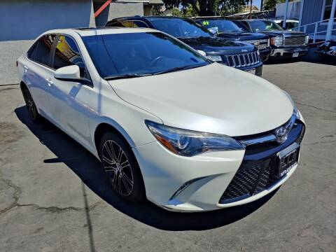 2016 Toyota Camry for sale at Rey's Auto Sales in Stockton CA