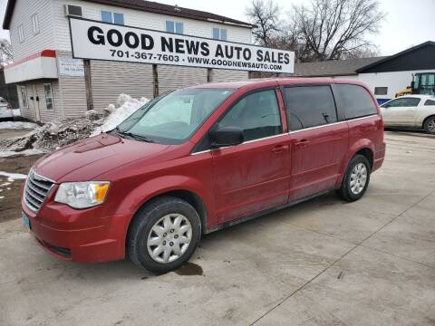 2009 Chrysler Town and Country for sale at GOOD NEWS AUTO SALES in Fargo ND