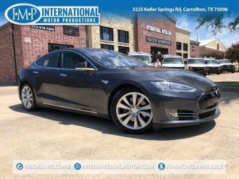 2015 Tesla Model S for sale at International Motor Productions in Carrollton TX