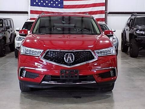 2018 Acura MDX for sale at Texas Motor Sport in Houston TX