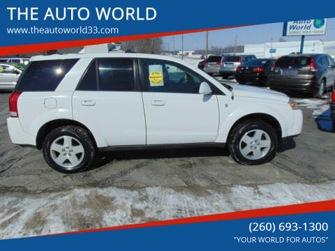 2006 Saturn Vue for sale at THE AUTO WORLD in Churubusco IN