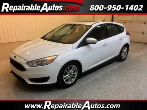 2016 Ford Focus for sale at Ken's Auto in Strasburg ND