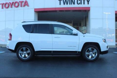 2015 Jeep Compass for sale at Twin City Toyota in Herculaneum MO