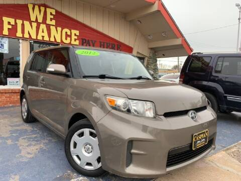 2012 Scion xB for sale at Caspian Auto Sales in Oklahoma City OK