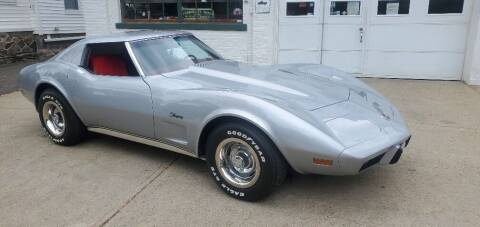 1976 Chevrolet Corvette for sale at Carroll Street Auto in Manchester NH