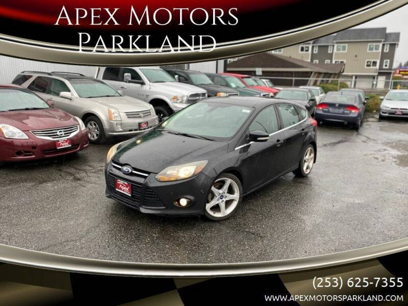 2012 Ford Focus for sale at Apex Motors Parkland in Tacoma WA