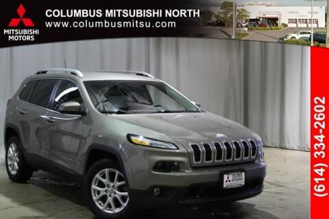 2017 Jeep Cherokee for sale at Auto Center of Columbus - Columbus Mitsubishi North in Columbus OH