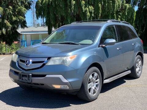 2007 Acura MDX for sale at Q Motors in Lakewood WA