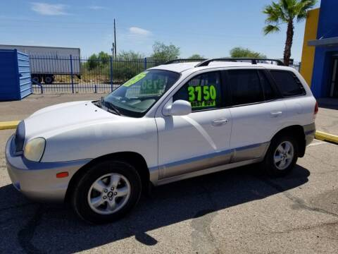 2006 Hyundai Santa Fe for sale at CAMEL MOTORS in Tucson AZ