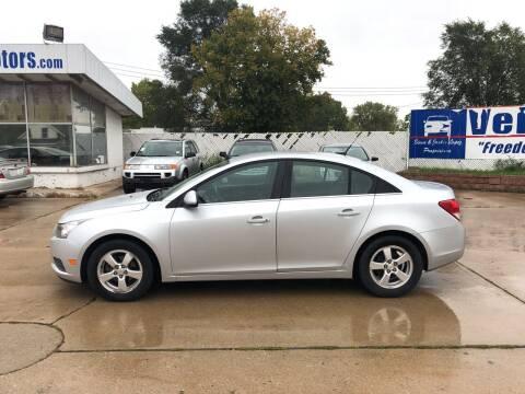 2011 Chevrolet Cruze for sale at Velp Avenue Motors LLC in Green Bay WI