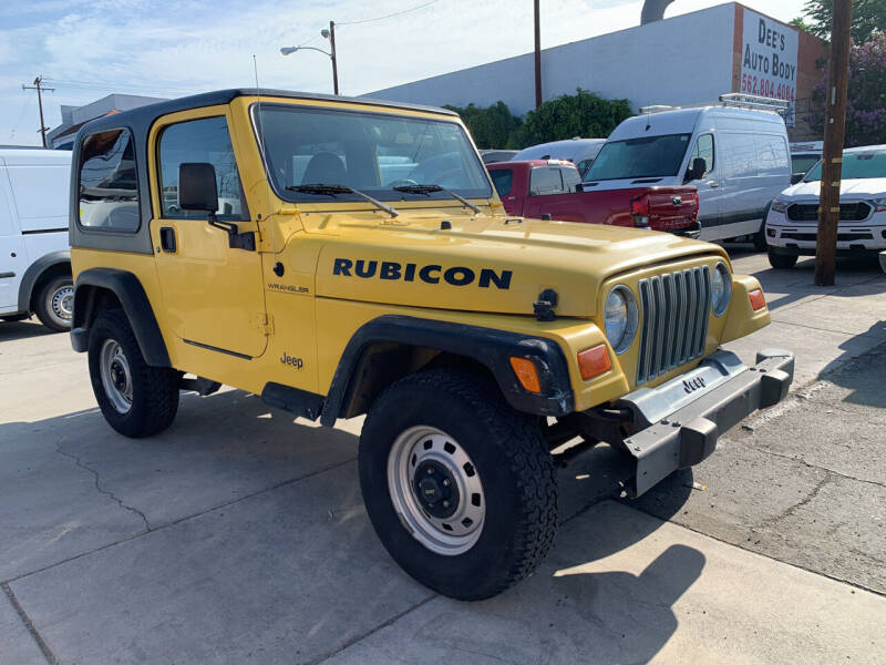 2002 Jeep Wrangler for sale at Best Buy Quality Cars in Bellflower CA