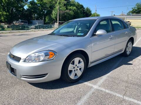 2011 Chevrolet Impala for sale at On The Circuit Cars & Trucks in York PA