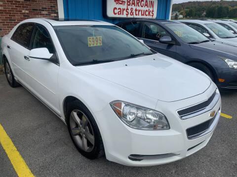 2012 Chevrolet Malibu for sale at BURNWORTH AUTO INC in Windber PA