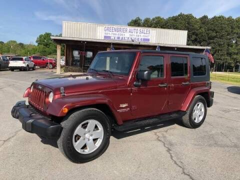 2007 Jeep Wrangler Unlimited for sale at Greenbrier Auto Sales in Greenbrier AR