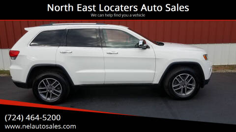 2014 Jeep Grand Cherokee for sale at North East Locaters Auto Sales in Indiana PA