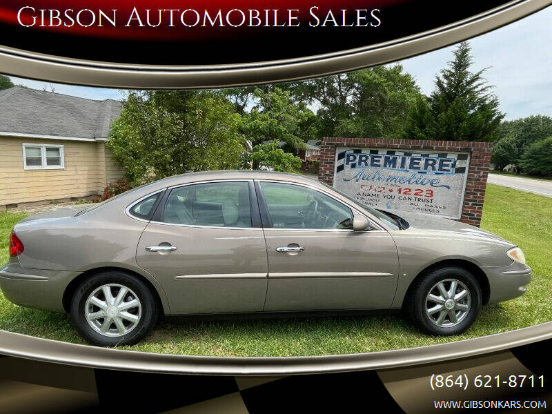 2006 Buick LaCrosse for sale at Gibson Automobile Sales in Spartanburg SC