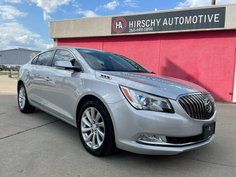2014 Buick LaCrosse for sale at Hirschy Automotive in Fort Wayne IN