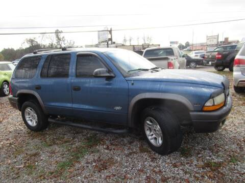 2002 Dodge Durango for sale at Dallas Auto Mart in Dallas GA