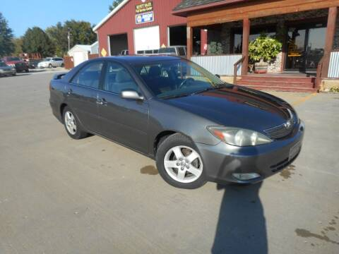 2004 Toyota Camry for sale at Boyett Sales & Service in Holton KS