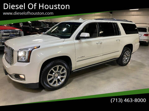 2015 GMC Yukon XL for sale at Diesel Of Houston in Houston TX